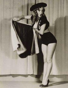 Marilyn Monroe. La sesión fotográfica por la que cobró 10 dólares la hora.