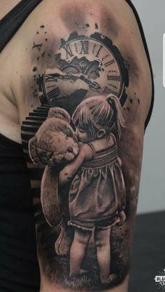 Daddy Tattoos, Father Tattoos, Family Tattoos, Love Tattoos, Body Art Tattoos, Tatoos, Father Daughter Tattoos, Tattoos For Daughters, Tattoo For Son