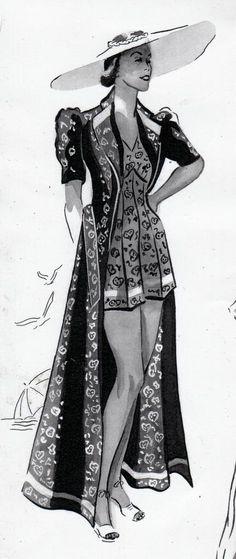 lilies & remains: 30s Fashion & Laura Ashbrenner
