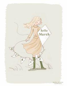 Hello March..