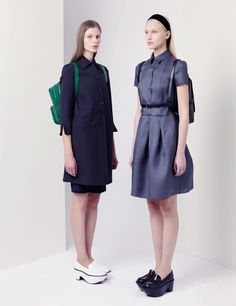 LOVE Jil Sanders back to school inspired Navy Fall 2012 collection