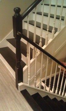 open staircase designs for split level homes | split level staircase Asian Staircase Design Photos