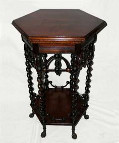 American Victorian Aesthetic Movement Moorish Taste Parlor Table For Sale | Antiques.com | Classifieds
