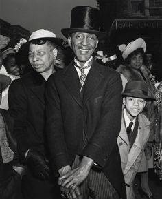 Easter Sunday in Harlem. Artist/Photographer: Weegee (Arthur Fellig (American, born Austria, 1899 - Place of origin: New York, United States Date: negative Weegee Photography, New York Photography, Street Photography, Vintage Photographs, Vintage Photos, Ukraine, Collections Photography, New York Pictures, Getty Museum