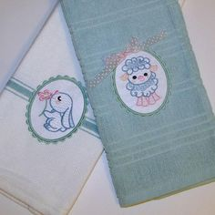 """Easter Babies"" +FREE Sample! Hippity hoppity it's time to shopity, hahaha, we just couldn't resist! Hop over to get this delightful #EasterEmbroidery set with designs for Easter, including several that are ideal for adorning baby items year round! So cute!"