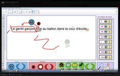 Grammaire de la phrase au TNI/Fichier Notebook Smart Board Activities, Activities For Kids, School Organisation, French Immersion, Classroom, Teaching, Writing, Cycle 3, Reading