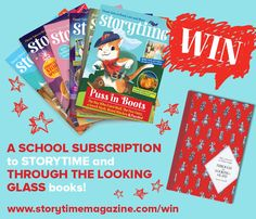 Win a subscription to Storytime magazine for your school and a beautiful book with Storytime magazine Issue 21! http://www.storytimemagazine.com/win