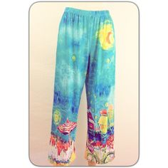 """LEOMA LOVEGROVE LOUNGING PANT Cute, comfy lounging pants. Never worn but I did hem them.  From the waist they are 38"""" long. Elastic waist. Polyester with 5% spandex Leoma Lovegrove Pants"""