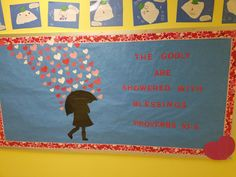 Valentines Day, scripture bulletin board