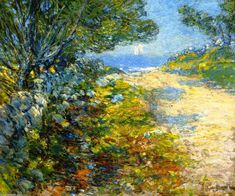 Road to the Sea (1895) - Frederick Childe Hassam