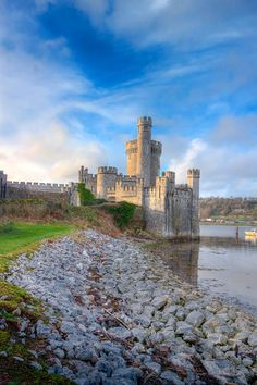 Blackrock Castle is a 16th-century castle located about 2 km from the heart of Cork city, Ireland on the banks of the River Lee.