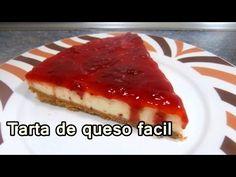 TARTA DE QUESO SIN HORNO - Recetas de Postres Faciles y Rapidos y Economicos De Hacer - YouTube