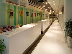 こども服古着専門店。店舗デザイン;名古屋 スーパーボギー http://www.bogey.co.jp
