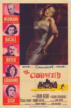 GLORIA GRAHAME IN THE COBWEB.