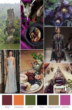Ideas para una wanderlust wedding y una paleta de colores perfecta.