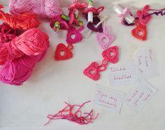 E Strea Chikitu: Sweet valentine notes DIY