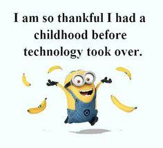 Funny Minion Joke About Childhood