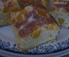 Bublanina s broskyňami (fotorecept) French Toast, Cheesecake, Pie, Breakfast, Desserts, Basket, Torte, Morning Coffee, Tailgate Desserts