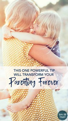 This powerful tip will change your parenting and help you be a better parent. Transform your parenting & give your kids the space they need to grow, learn, and try.