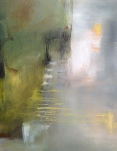 Detail. Reconciling Ill-matched threads. #painting by Sharon Kingston