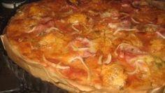 Fotorecept: Pizza s olomouckými syrečkami