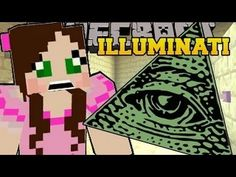 [PAT and JEN] Minecraft  THE ILLUMINATI   Custom Map Part 2 Popular MMos