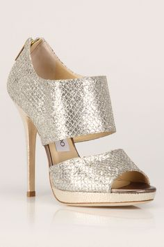 Jimmy Choo Private Sandals in Champagne $769.99