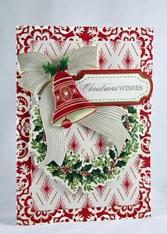 Anna Griffin Holiday Trimmings Cards - Day 1 | Designs by Robin | Bloglovin'