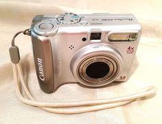 Canon #PowerShot #A530 5.0 MP Digital Camera - Silver  #Canon