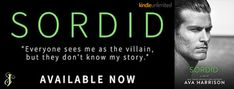 Wonderful World of Books: New Release - Sordid by Ava Harrison + Giveaway!