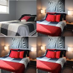 An under-used guest room which was also under-dressed. Under Dress, Staging, Guest Room, Bed, House, Furniture, Home Decor, Homemade Home Decor, Stream Bed