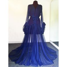 """Image of Midnight Blue """"Vivienne"""" Gown (other colors available)"""