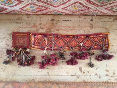 Antique Banjara belt textile gypsy tribal by outbeyondborders, $250.00