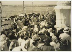 """""""Virgen de la Paz"""" 22 de Febrero 1948 - camino Punta Mogotes - Haynes Publishing Company Archive //Programa Archivos en Peligro - Biblioteca Británica // Endangered Archives Program -British Library"""