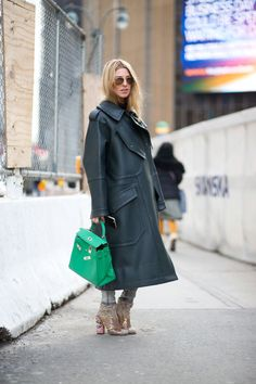 Some of our favorite street style looks from New York Fashion Week: