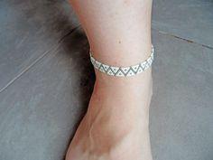 de la boutique McommeMaryna sur Etsy Boutique, Etsy, Diamond, Jewelry, Fashion, Indian Anklets, Beads, Fabrics, Unique Jewelry