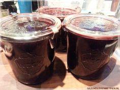 Zelfgemaakte jam van rode vruchten en appel en zonder geleisuiker - Gezond leven met Pien