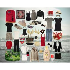 """""""A week at the beach house"""" by susanmcu on Polyvore"""