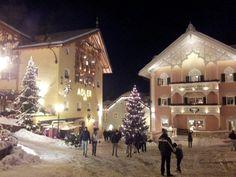 Winter in Ortisei, Alto Adige - Sudtirol, Italy