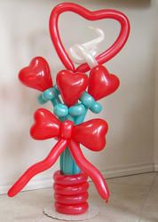 valentine balloon bouquet designs