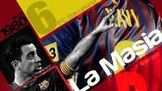 Xavi Hernandez Fc Barcelona 2012-2013 Wallpapers HD