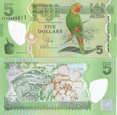 New Fiji Note! Plastic Money