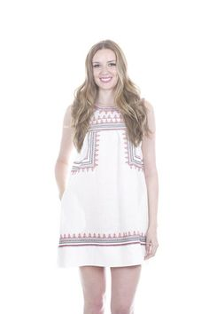 Summers at the Beach $52+$5 shipping! We LOVE the pockets on this dress. Great cover up.
