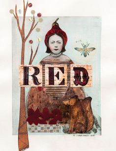 You've never seen Little Red Riding Hood like this before in this clever journal by Linda Trenholm.