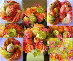 Oranje boeketje Ketelbinkie Trekking Crochet Yarn, Trekking, Flowers, Plants, Thread Crochet, Plant, Royal Icing Flowers, Flower, Florals