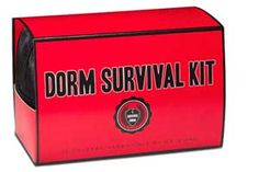Still needing that perfect Graduation Gift? The Monogram Shoppe and more... is here to help! This Dorm Survival Kit contains such dorm room necessities as caffeine gum, ear plugs, laundry instructions and much more! Visit The Monogram Shoppe and more... to pick up your survival kit today!