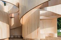 Serpentine Summer House 2016 (Barkow Leibinger) | Architect Magazine | Barkow Leibinger Architects, London, England, Cultural, Pavilion, Serpentine Gallery