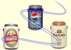 Carregue sua bebida pra onde quiser e sempre gelada! COOLER'S com ótimos preços.  www.distribuidoraprimavera.com.br