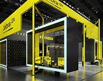Igor Iastrebov on Behance Exhibition Stall, Exhibition Stand Design, Industrial Sheds, Industrial Design, Warehouse Design, Stage Design, Gym Design, 2017 Design, Machine Design