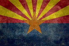 Arizona, the 48th state! Art Print by Bruce Stanfield | Society6